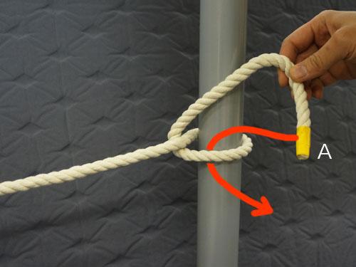 結び方 ロープ の トラックロープの荷台への結び方!輸送結び・南京結び・もやい結びまで