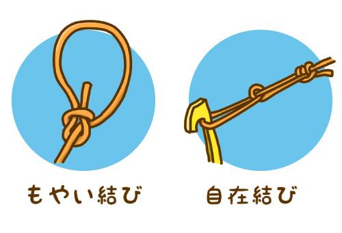 の 結び方 ロープ