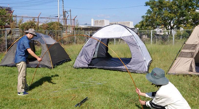 テントの構造を知ろう