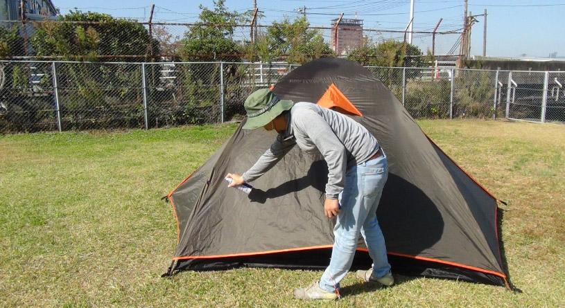 サムネイル テントのメンテナンスー防水性を復活させる方法