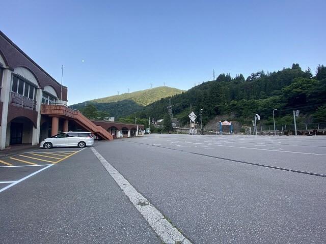 車中泊した道の駅の駐車場の写真