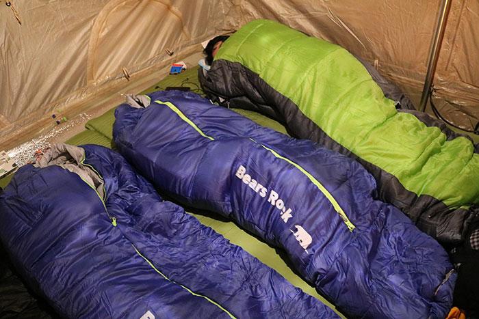 2回目の冬キャンプ