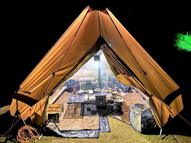 【冬キャンプ】テントの中であったか料理