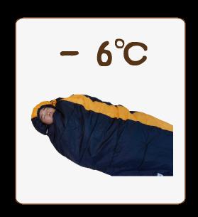 -6℃対応寝袋